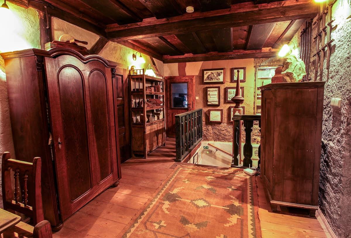 Ubytování a muzeum Český Krumlov - horní síň