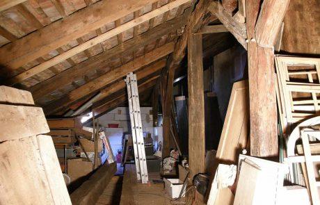 Rekonstrukce Muzeon CK - ubytování Český Krumlov - půda-2