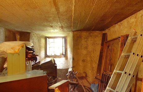 Rekonstrukce Muzeon CK - ubytování Český Krumlov - dolní komora
