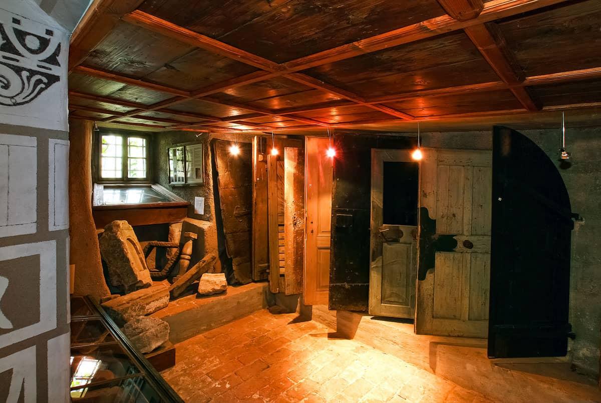 Muzeon CK Český Krumlov - typologie dveří