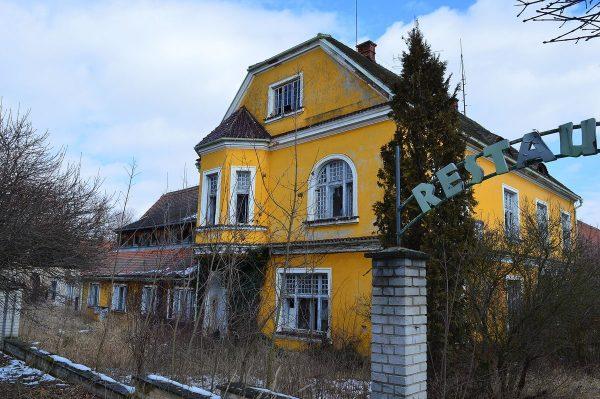 Švamberský dvůr - vila správce