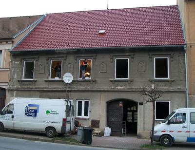 Okna poč. 20. století Lišov