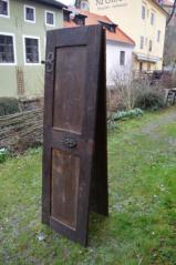 Informační panel, Dvoukřídlé dveře, Na Sadech, Č. Budějovice, barokní období (1)