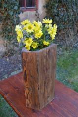 Váza, vaznice barokního krovu sýpky, Písečné