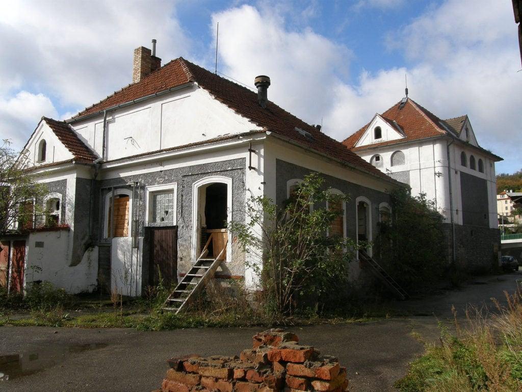 Bývalá jatka Špičák 194, patrně 1914