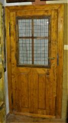 Výplňové prosklené dveře, pól. 19. sto