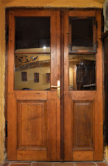Výplňové prosklené dveře, 2. pól. 19. stol.