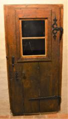 Svlakové dveře, s okénkem Parkán 109, ČK. počátek 19. století