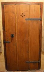 Svlakové dveře, Parkán 109, ČK. 2. polvina 19. století