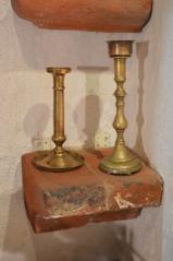Polička tvarovka korunní římsy, klášter Český Krumlov