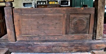 Dělící příčka, klasicistní dveře ČK-Plešivec