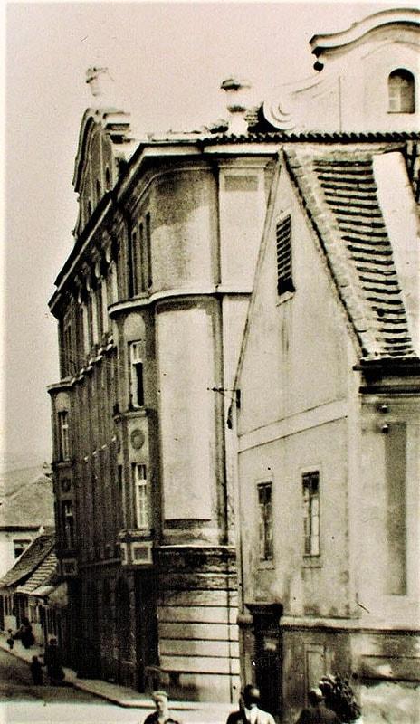 Obchodní dům Schinko ČK, Latran 193, 1913