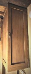 Skříňové dveře, kryt bojleru