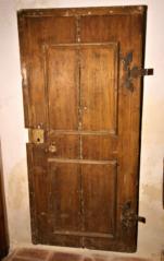 Svlakové dveře s naznačením vyplní lištami, ČK, Široká ulice, patrně renesancelice, patrně renesance