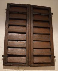 Žaluziová okenní výplň, CK, Parkán 113, patrně konec 18. století