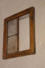 Okýnko se zasklením do dřevěné a olověné listy, 1. pol.19.stol.
