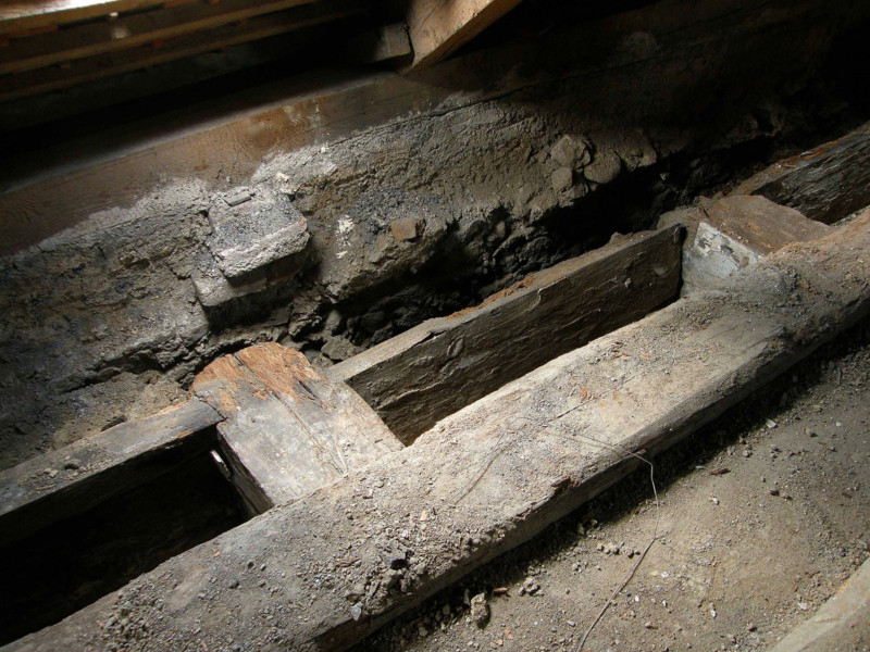 Torzo stropu roubené konstrukce, CK Latrán 74,1475