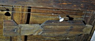 Torzo kazetového stropu, CK, Soukenická 42