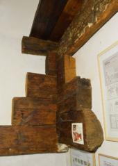 Torzo konstrukce bývalé komory , CK Latrán 74, 1475