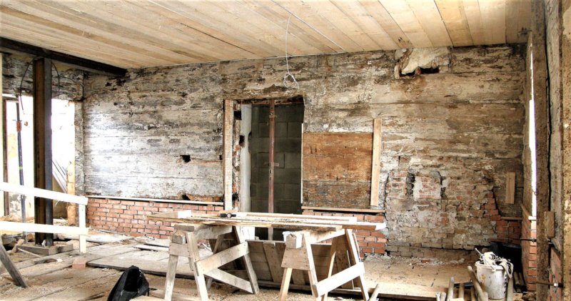 Konstrukce bývalé komory v 1. v patře, CK Latrán 74, 1475