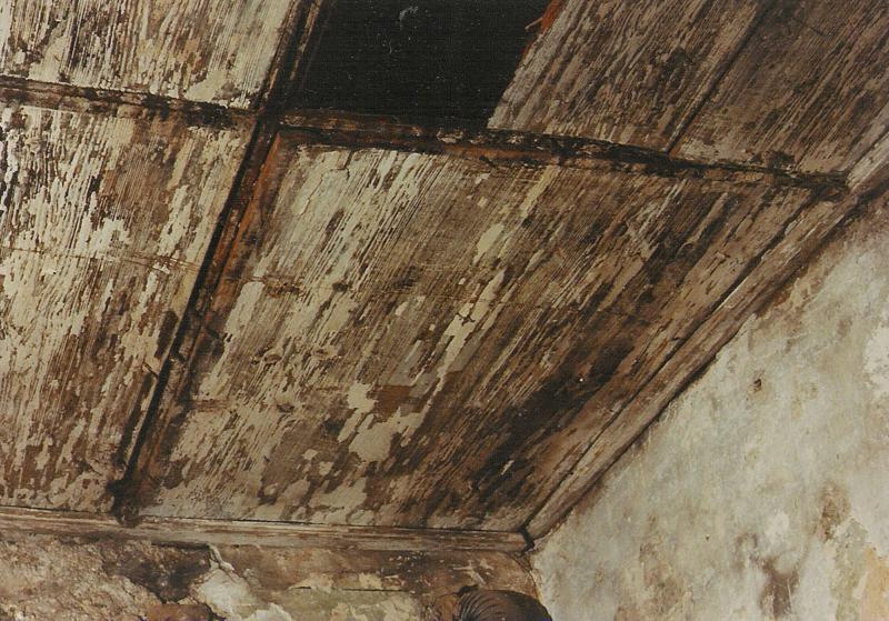 Kazetový strop, inspirační vzor CK Latrán 48 raně barokní období