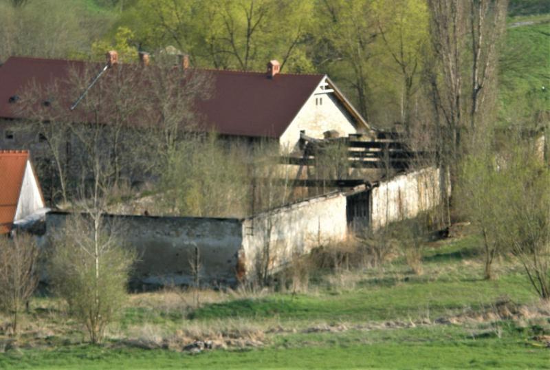 Kvítuv Dvůr, stodola po požáru