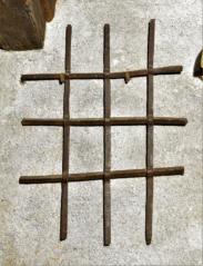 Provlékaná mříž, patrně barokní období