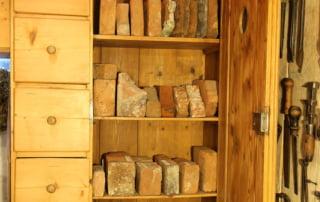 Muzeum stavebních řemesel - cihelný materiál