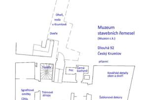 Muzeum stavebních řemesel - přízemí